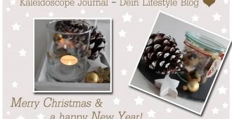 Fröhliche Weihnachten und alles Gute für 2017! www.kaleidoscope-journal.de, Kirsten Schwarzer