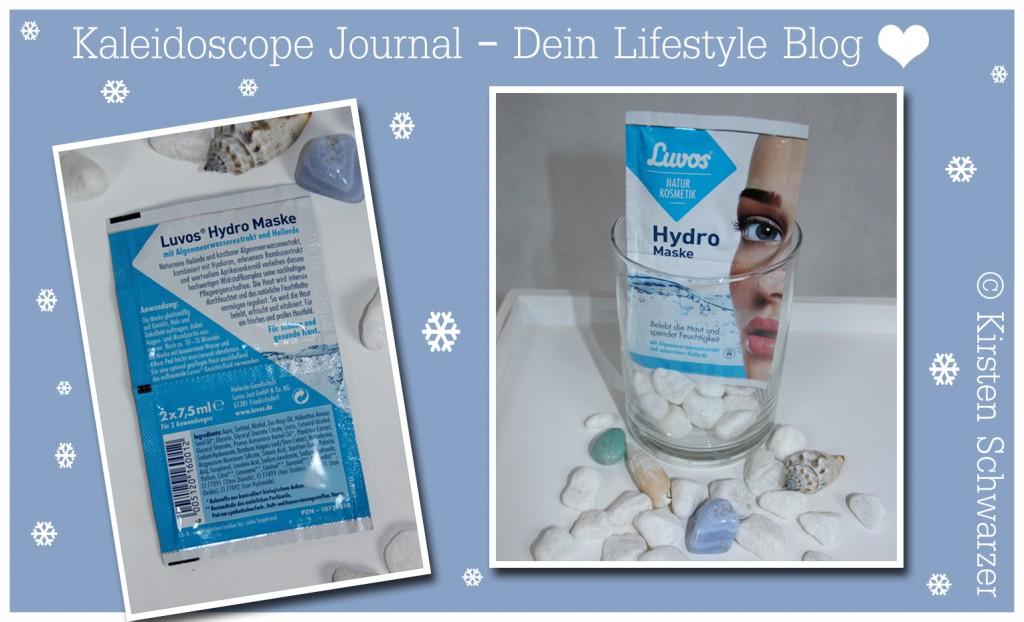 Winterpflege für empfindliche Haut, Hydro Maske von Luvos, www.kaleidoscope-journal.de, Kirsten Schwarzer