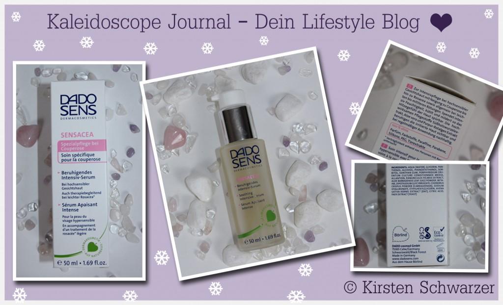 Winterpflege für empfindliche Haut, Intensiv-Serum Sensacea von DADO SENS, www.kaleidoscope-journal.de, Kirsten Schwarzer