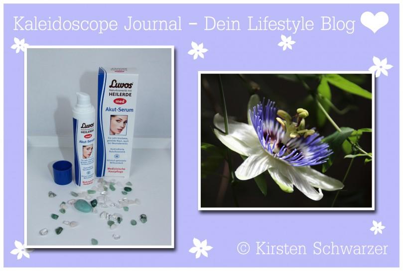 Erfahrungsbericht über das Luvos med Akut-Serum, www.kaleidoscope-journal.de, Kirsten Schwarzer
