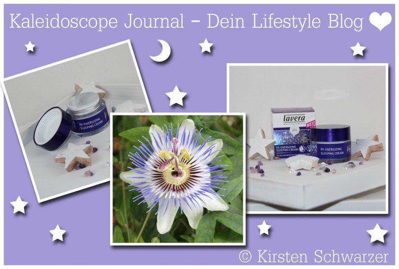 Erfahrungsbericht über die Re-Energizing Sleeping Cream von lavera, www.kaleidoscope-journal.de, Kirsten Schwarzer