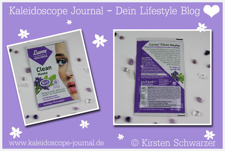 Frisch in den Frühling mit der Clean Maske von Luvos, www.kaleidoscope-journal.de, Kirsten Schwarzer