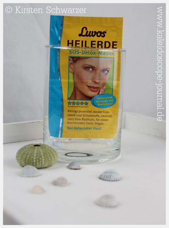Wellness to go mit der SOS-Detox-Maske von Luvos, www.kaleidoscope-journal.de, Kirsten Schwarzer